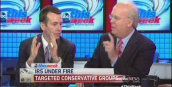 Rove Loses It When Confronted With Bush Administration Targeting Of NAACP