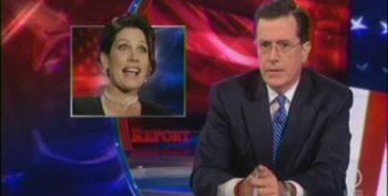 Stephen Colbert Bids Farewell To Michele Bachmann