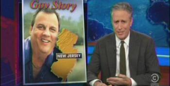 Jon Stewart Blasts Christie For Wasting Taxpayers' Money On Special Election