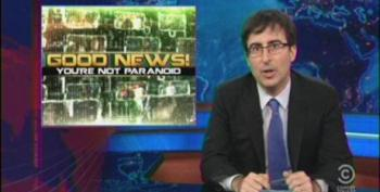 So Much For That Slow News Cycle: The Daily Show's John Oliver Takes On The NSA