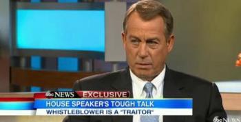 Boehner: Snowden Is A 'Traitor'