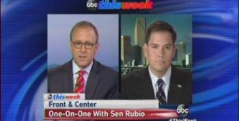 Jonathan Karl Cites Coulter, Erickson And Beck To Chide Sen. Rubio
