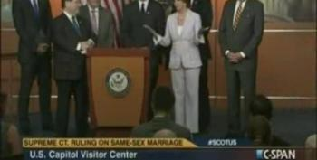 Pelosi Pesponds To Bachmann's DOMA Comments: 'Who Cares?'