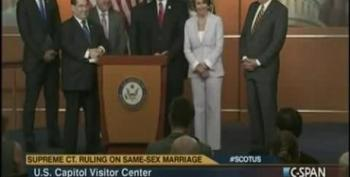 Nancy Pelosi Responds To Bachmann's DOMA Comments: 'Who Cares?'