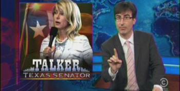 John Oliver Goes After Texas GOP For 'Aborting' Wendy Davis Filibuster