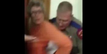 Texas Troopers Forcibly Arrest 72-Year-Old Woman During Wendy Davis Filibuster