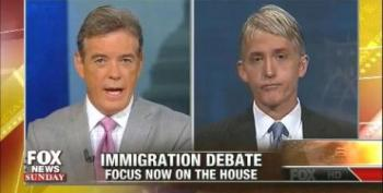 Gowdy: Immigration Reform Trying To 'Force' Citizenship On 'Those Who Don't Want It'
