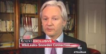 Assange: 'No Stopping' The Publishing Of Snowden's NSA Documents At This Point