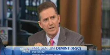 Jim DeMint: A Lot Of Women 'Want The Opportunity To Get A Free Ultrasound'