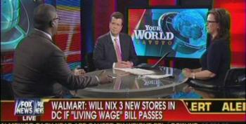Fox Pushes Pro-Walmart Myths To Bash D.C. Living Wage Bill