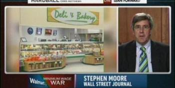 Wall Street Journal's Stephen Moore Shills For Walmart