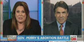 Rick Perry Defends New Texas Abortion Restrictions
