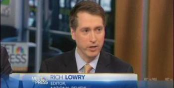 Rich Lowry Continues To Push Lies About Immigration Bill On Meet The Press