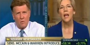 "Sen. Warren On CNBC's ""Squawk Box"""