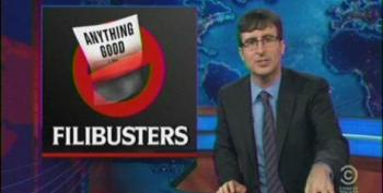 John Oliver Takes The Senate To Task Over Filibuster Showdown