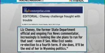 Liz Cheney Roils Wyoming Politics With Primary Challenge To Sen. Enzi