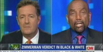 Piers Morgan Brings On Wingnut Rev. Jesse Lee Peterson With Predictable Results