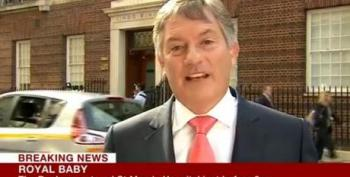 BBC Reporter On Royal Baby Watch: We Report, None Of It News