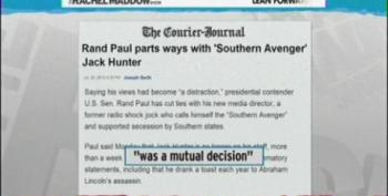 Rand Paul Parts Ways With Neo-Confederate 'Southern Avenger' Staffer Jack Hunter