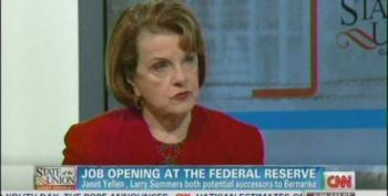 Feinstein: Woman As Head Of Fed Would Be 'Very Positive Thing' For Obama Administration