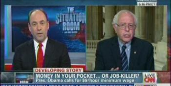Bernie Sanders Takes Apart Douglas Holtz-Eakin In Debate Over Minimum Wage
