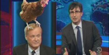 John Oliver Skewers Chris Matthews For Painfully Wrong Presidential Primary Predictions