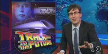 John Oliver Skewers Media Coverage Of Musk's Hyperloop