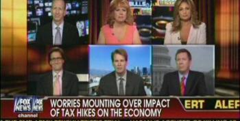 Fox Panel Bemoans Lack Of Consumer Spending - Ignores Need For Minimum Wage Increase
