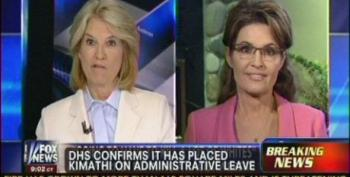 Palin Blames President Obama For Crazy DHS Black Nationalist Employee