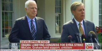 McCain: 'Catastrophic' If Congress Doesn't Back Obama On Syria