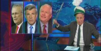Jon Stewart Hits Obama On Syria: The Red Line Is Actually A Dick-Measuring Ribbon