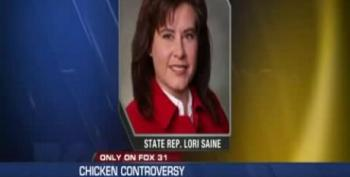 GOP Lawmaker Brings Fried Chicken To Poverty Hearing In 'Silent Protest'