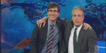 Jon Stewart Returns To The Daily Show