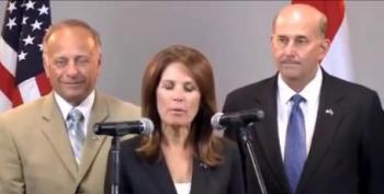 Bachmann, Gohmert And King's Surreal Egyptian Presser Blames Muslim Brotherhood For 9/11