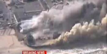 Massive Blaze Destroys Much Of Seaside Park NJ's Boardwalk
