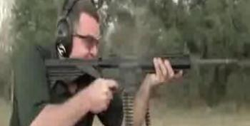 Legal Loophole Allows New Belt-Fed AR-15 That Sprays Bullets Like A Machine Gun