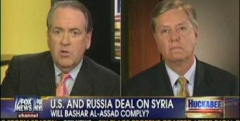 Graham Uses Syria As An Excuse To Push For Military Intervention In Iran