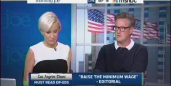 QOTD: Joe Scarborough On Minimum Wage