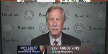 Sen. Angus King: Crashing The Economy 'Kind Of Weird Success' For Republicans