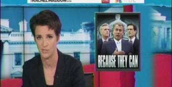 Maddow: Elect Republicans And They Will Burn The Place Down