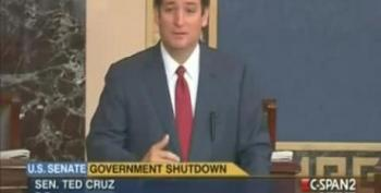 Cruz Complains To Democrats About Being Seen As 'The Root Of All Evil In The World'
