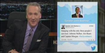 Bill Maher Reads John Boehner's 'Drunk Tweets'