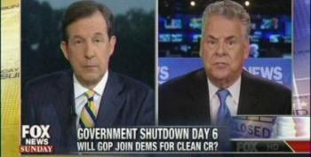 Peter King Admits Republicans Are The Ones Who Shut The Government Down