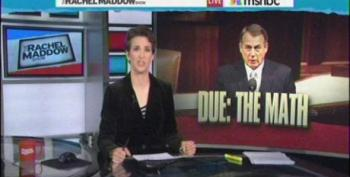 Rachel Maddow Helps John Boehner With Some 'Very Easy Math'