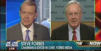 Fox's Forbes Whines About President Obama Being Mean To Republicans