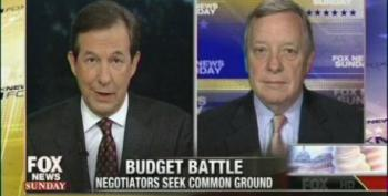 Durbin Calls Out GOP Obstruction: Wallace Tells Him No One Cares