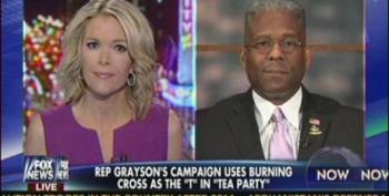 Allen West Attacks Alan Grayson For Comparing 'Tea Party' To The Klan