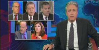 Jon Stewart Smacks Down CNBC And Fox Anchors For Defending JP Morgan
