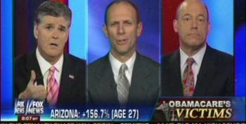 Austan Goolsbee Calls Out Sean Hannity For His Fake Obamacare Victims