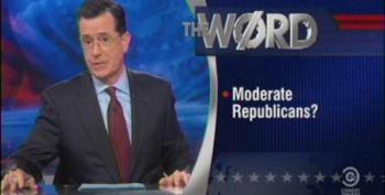 The Colbert Report Word: Philantrophy